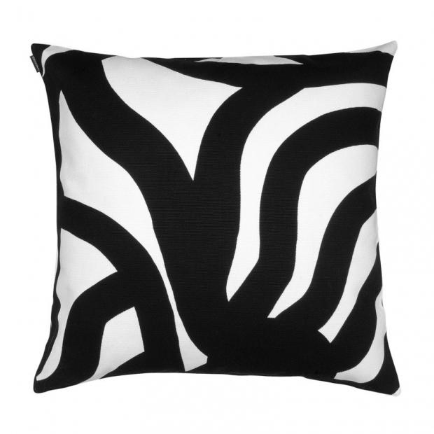 Povlak na polštář Joonas 50x50, černo-bílý