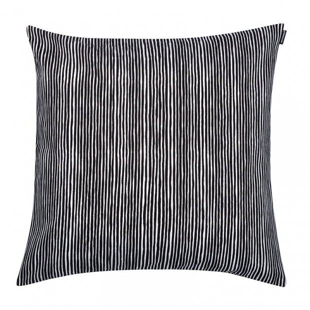 Povlak na polštář Varvunraita 50x50, černo-bílý