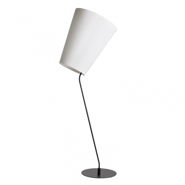 Stojacia lampa Soihtu, biela