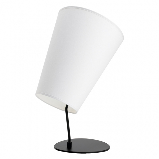 Stolná lampa Soihtu, biela