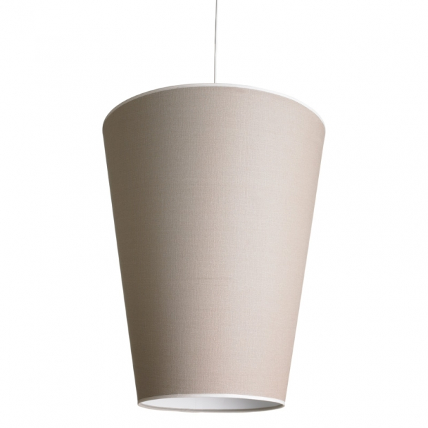 Závěsná lampa Soihtu, písková