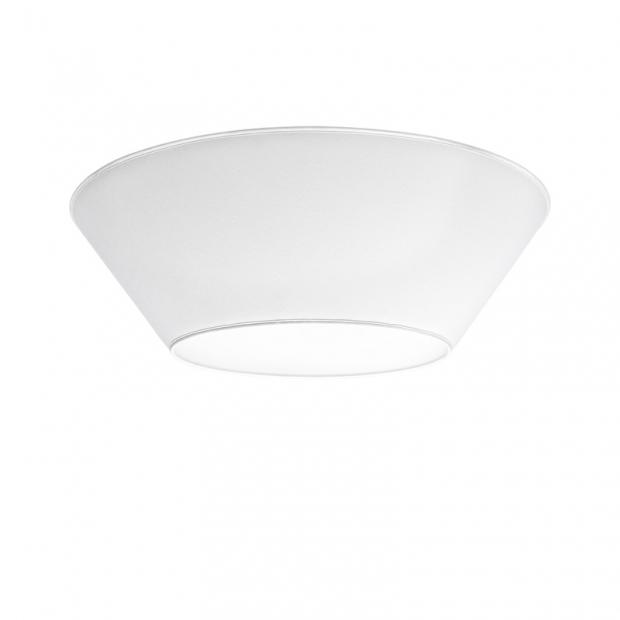 Stropní lampa Halo 70cm, bílá