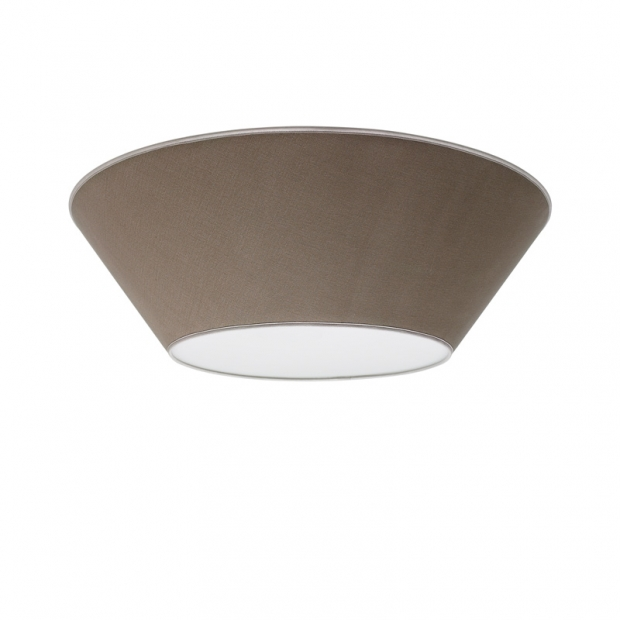 Stropná lampa Halo 70cm, piesková