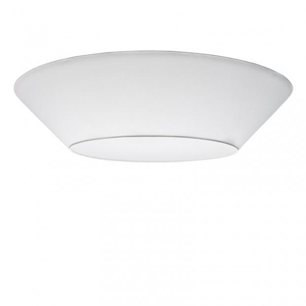 Stropná lampa Halo 100cm, biela