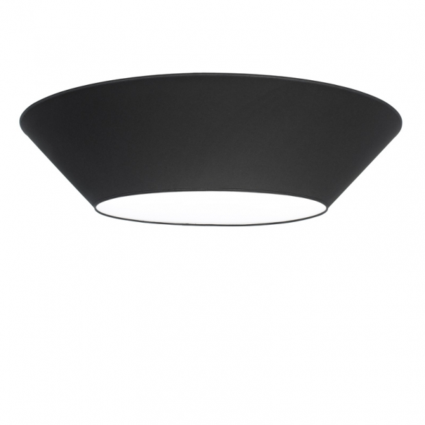 Stropná lampa Halo 100cm, čierna