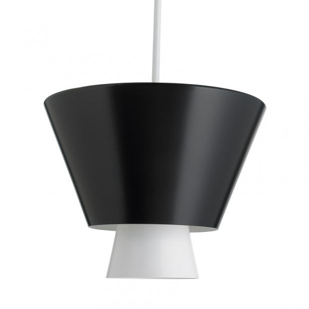 Závěsná lampa Loiste, černá