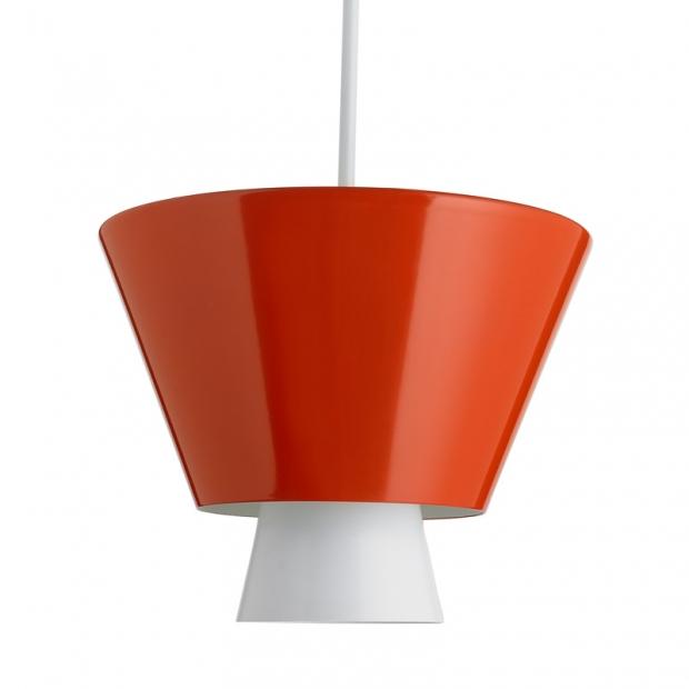 Závěsná lampa Loiste, terakotová