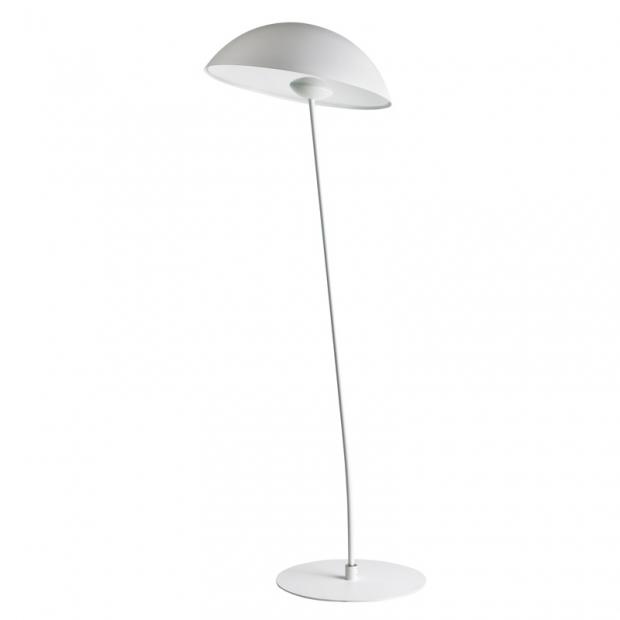 Stojacia lampa Kajo, biela