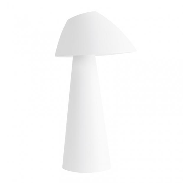 Stolná lampa Loisto, biela