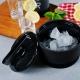 Chladiaca nádoba na ľad, čierna