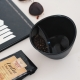 Chytrý hrnek na čaj 0,25 l, černý