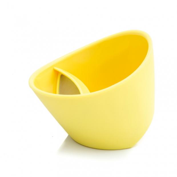 Chytrý hrnček na čaj 0,25 l, citrónový