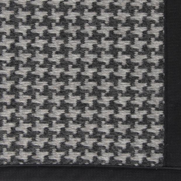 Koberec Askel, černo-šedý
