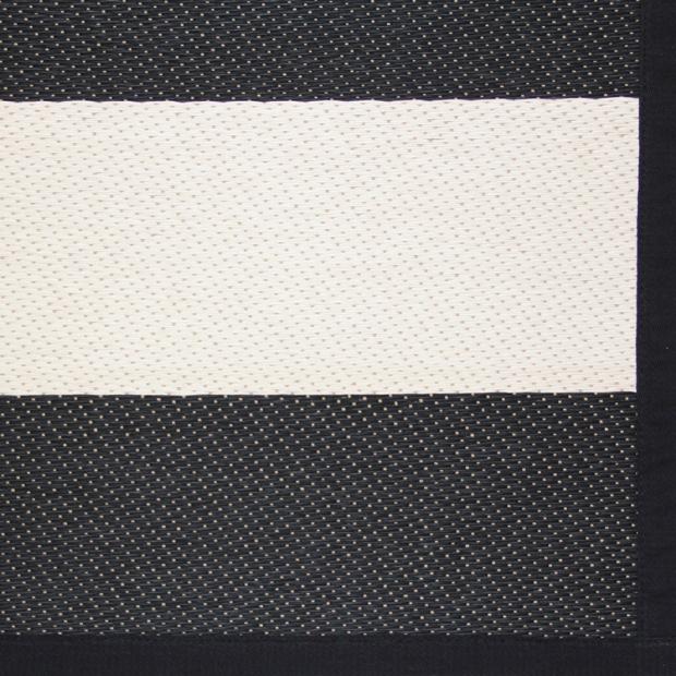 Koberec Basso, černo-bílý