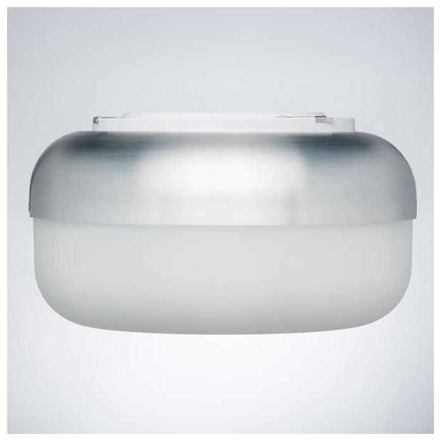 Nástěnná lampa Korona, hliníková