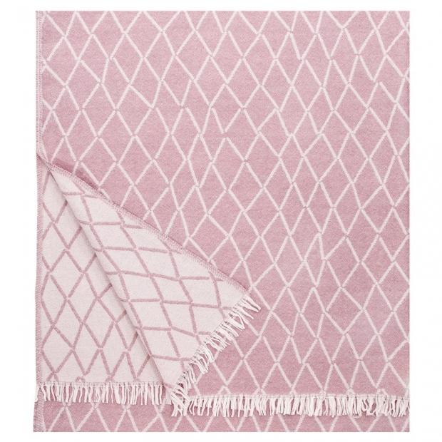 Vlněná deka Eskimo 140x180, růžová