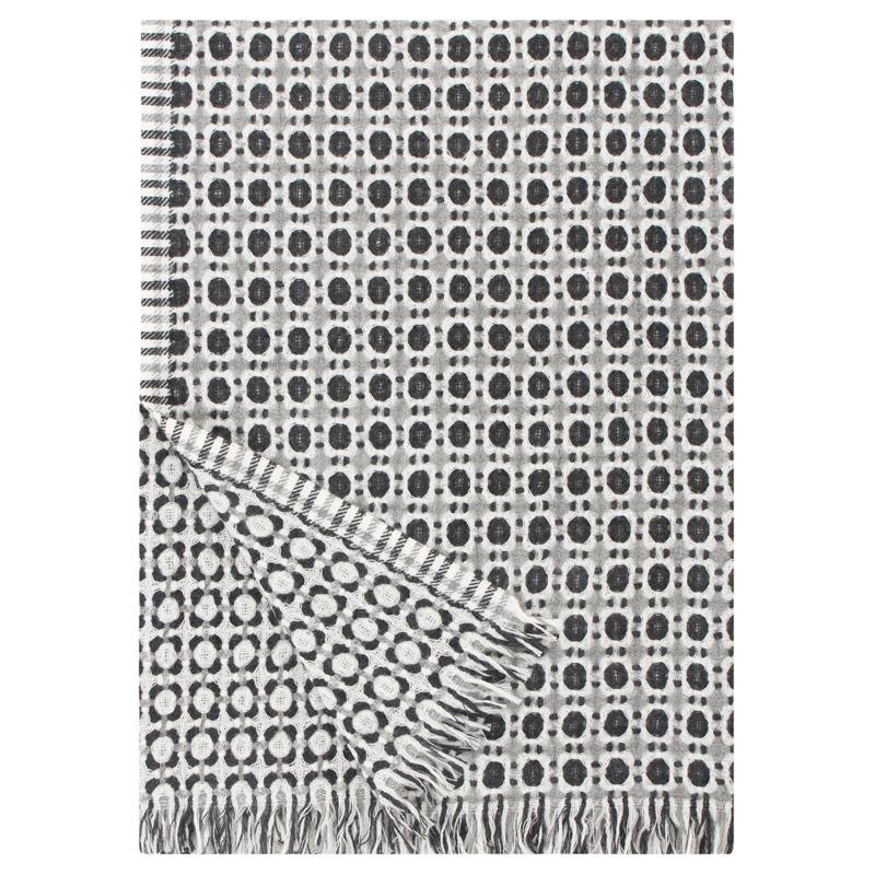 Vlněná deka Corona 130x170, černá