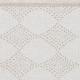 Ubrus Timantti 150x220, bílý / len
