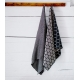 Osuška Terva 85x180, šedá