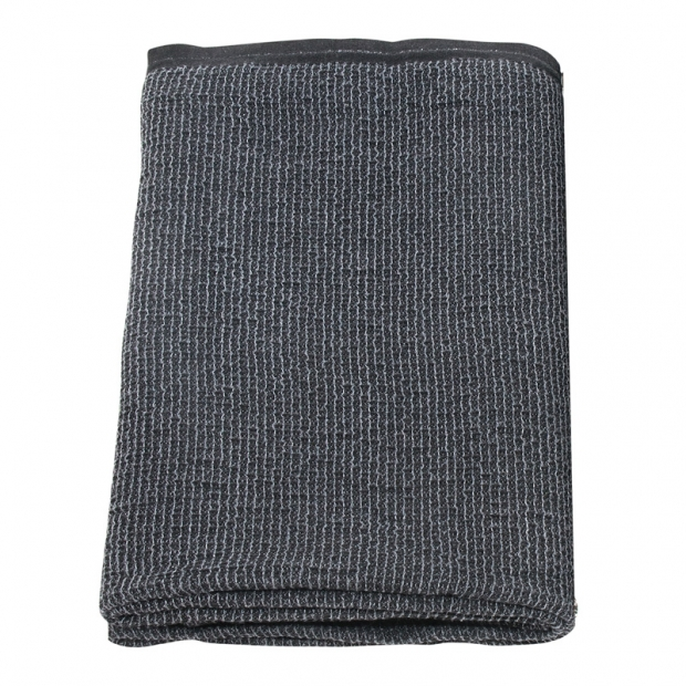 Osuška Terva 85x180, tmavo sivá