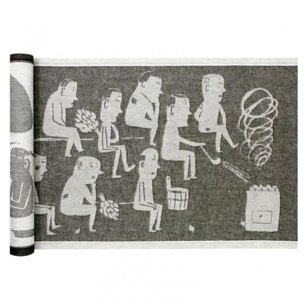 Podložka Miesten 46x150, šedá