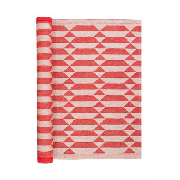 Podložka do sauny Hila 46x150, červená