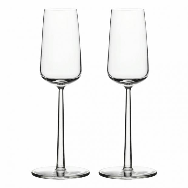 Sklenice na šampaňské Essence 0,21l, 2ks