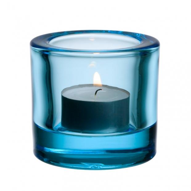 Svietnik Kivi, svetlo modrý