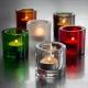 Svícen na čajovou svíčku Kivi, čirý