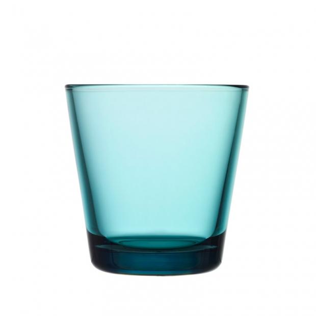 Poháre Kartio 0,21l, 2ks, modré seablue