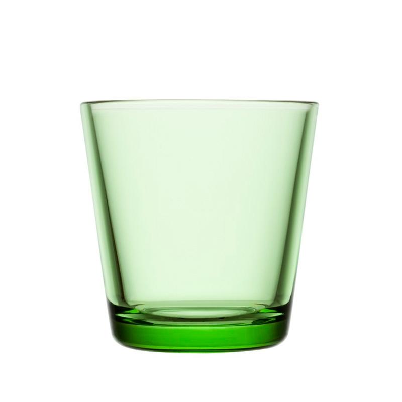 Sklenice Kartio 0,21l, 2ks, světle zelené