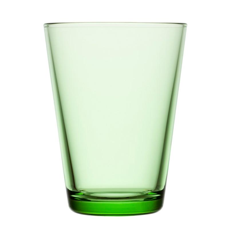 Sklenice Kartio 0,4l, 2ks, světle zelené