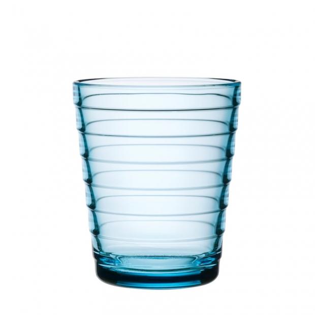 Poháre Aino Aalto 0,22l, 2ks, svetlo modré