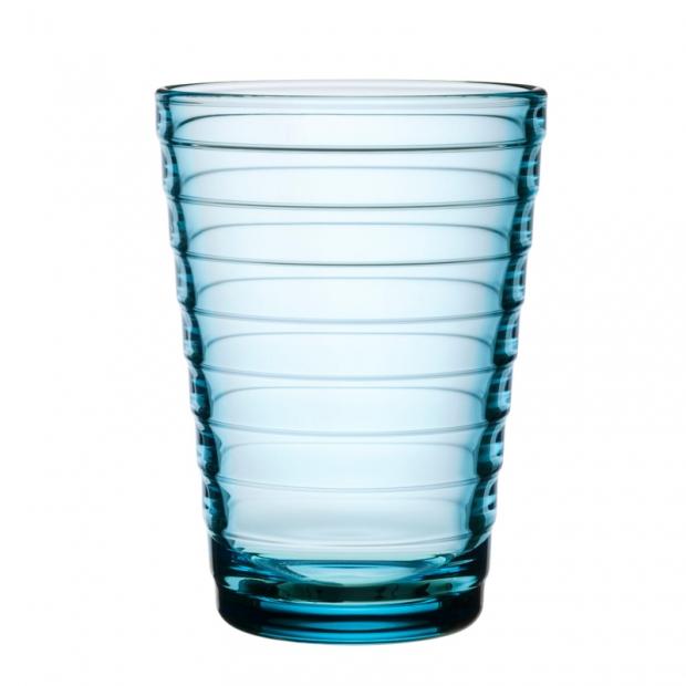 Poháre Aino Aalto 0,33l, 2ks, svetlo modré