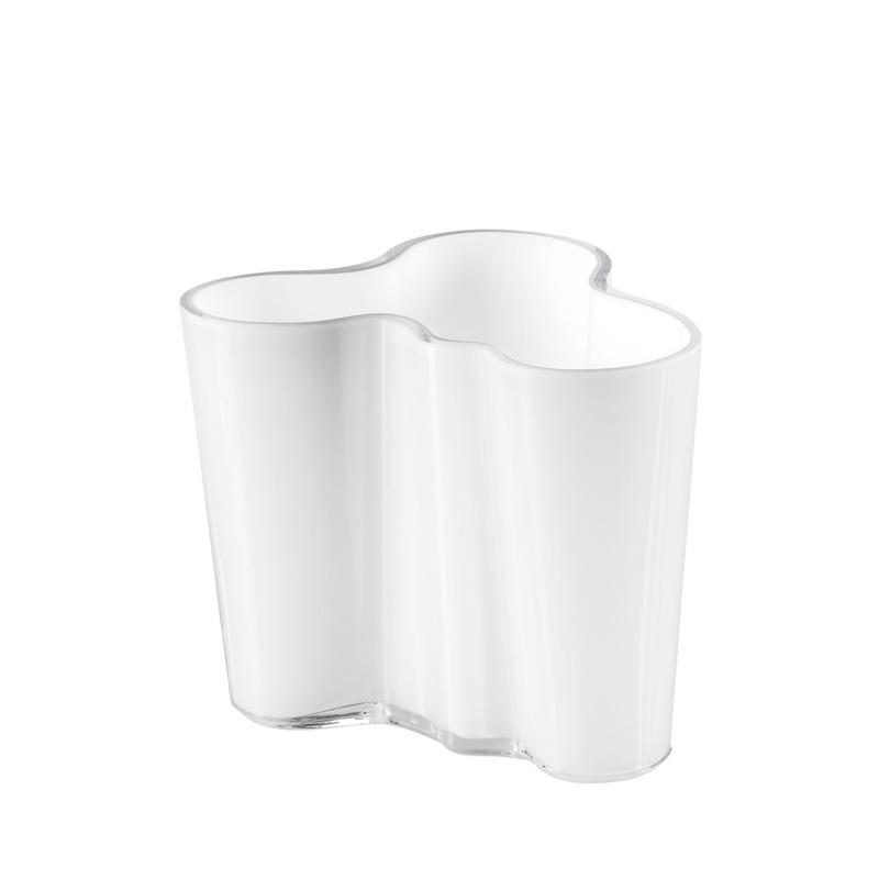 Alvar Aalto váza 95mm, bílá