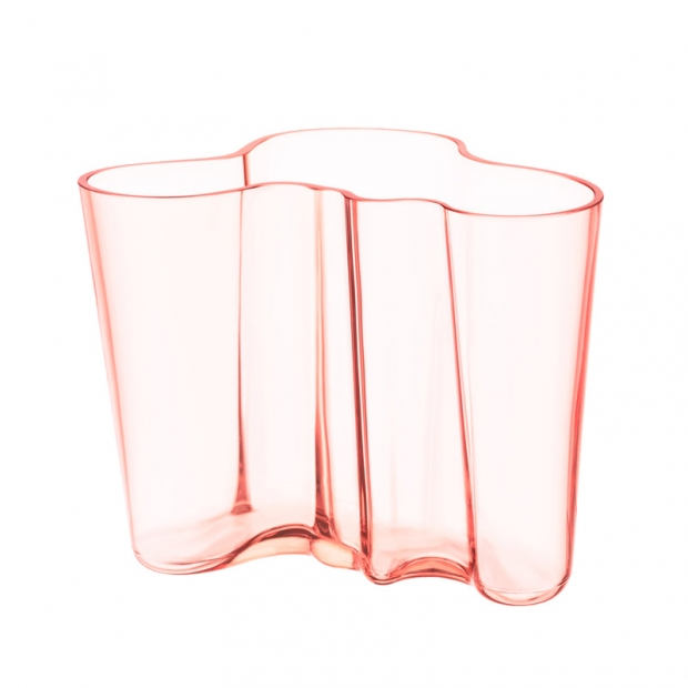 Alvar Aalto váza 160mm, lososová