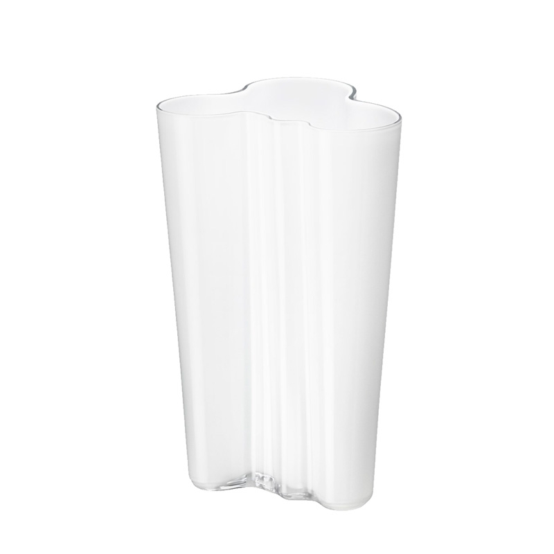 Alvar Aalto váza 201mm, bílá