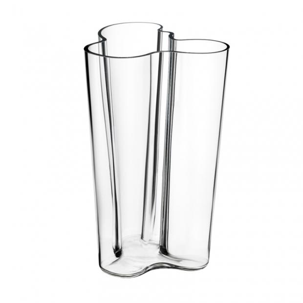 Alvar Aalto váza 251mm, čirá