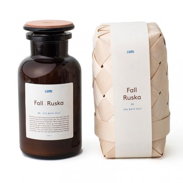 Přírodní sůl do koupele Podzim 700g