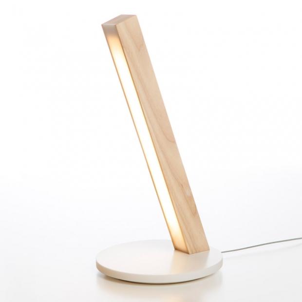 Stolná lampa LED40, dub