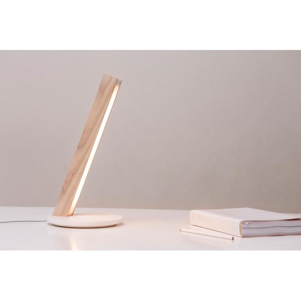 Stolní lampa LED1 (bříza)