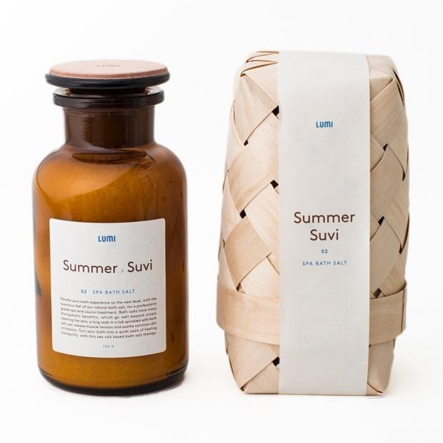 Přírodní sůl do koupele Léto 700g