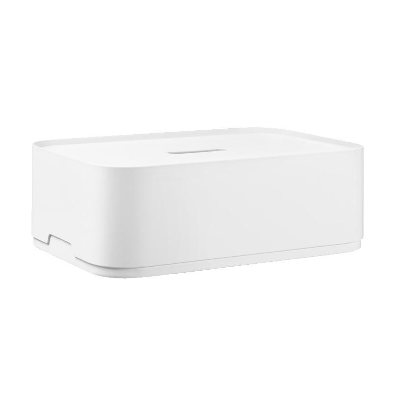 Úložný box Vakka 45x15x30, bílý