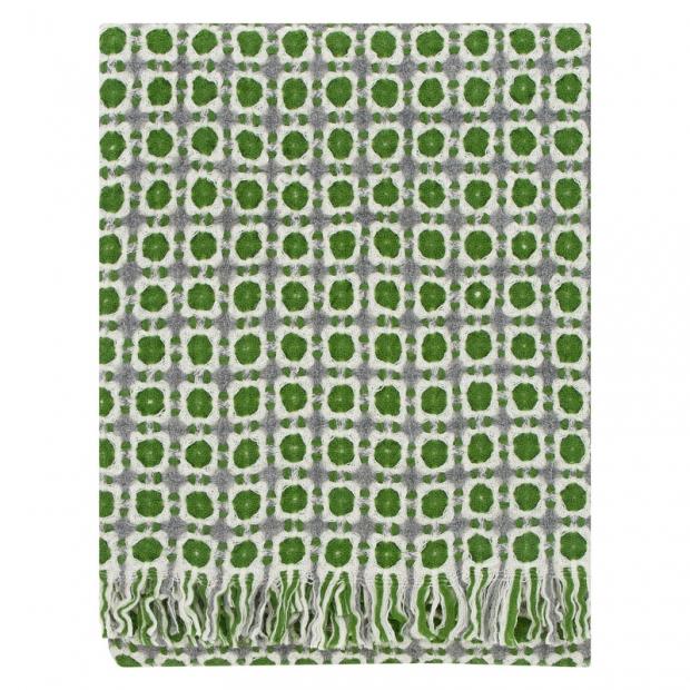 Vlněná deka Corona 130x170, zelená