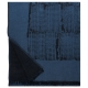 Vlněná deka Mesi 140x180, modrá