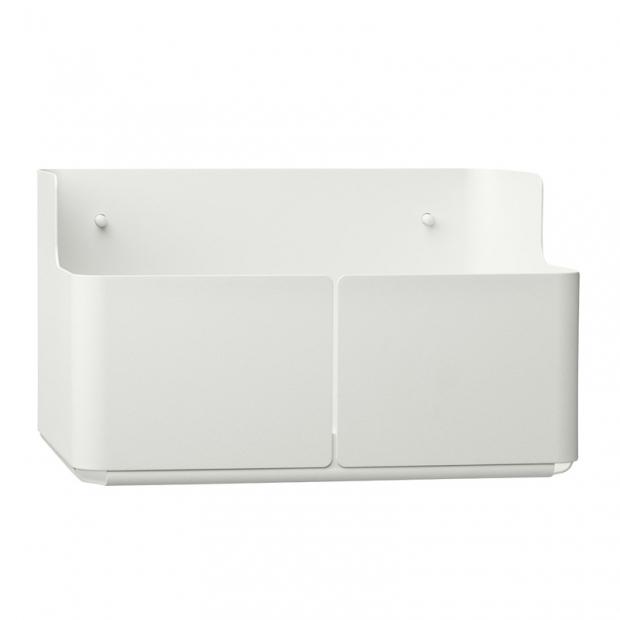 Úložný box Aitio 28x18x16, bílý