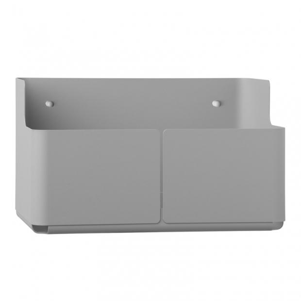 Úložný box Aitio 28x18x16, světle šedý
