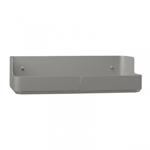 Úložný box Aitio 36x10x9,5, šedý