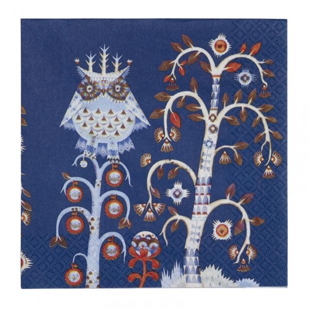 Ubrousky Taika 33x33, modré