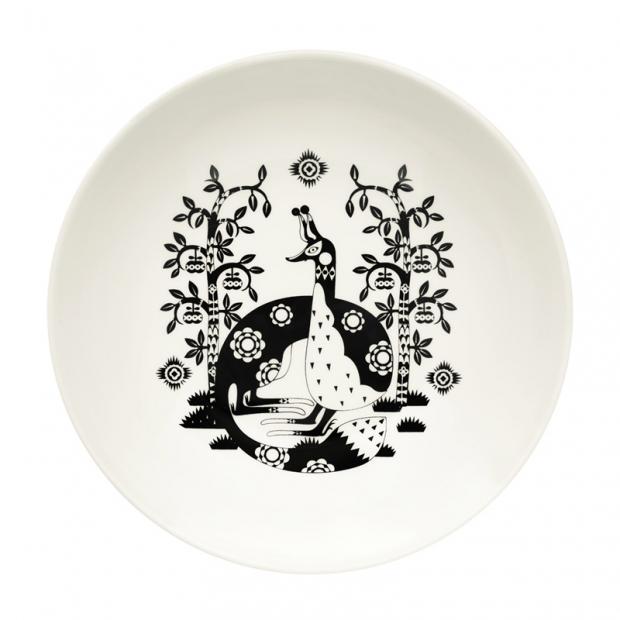Hluboký talíř Taika 22cm, černý
